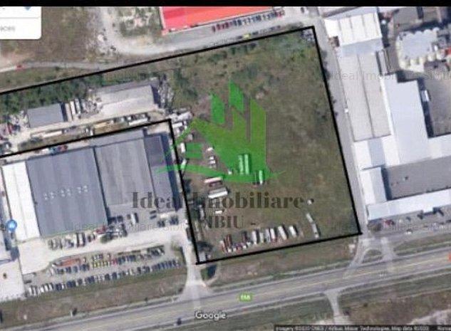 Teren intravilan langa Aeroportul Sibiu - imaginea 1