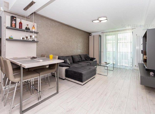 Mamaia Nord - Apartament de lux cu 2 camere, mobilat si utilat complet - imaginea 1