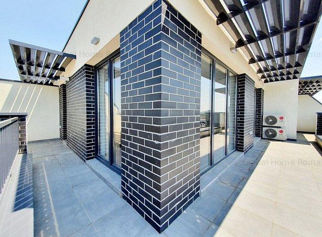 FIRST RENT| 2 Camere Penthouse + Terasa 26 MP+ Parcare |H PIPERA LAKE - AVIATIEI - imaginea 1