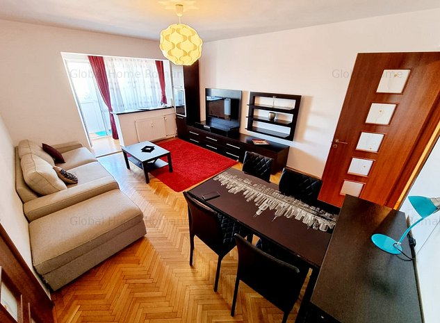 Apartament 2 camere | Dorobanti Floreasca | Mobilat si Utilat | 7 Minute Metrou - imaginea 1