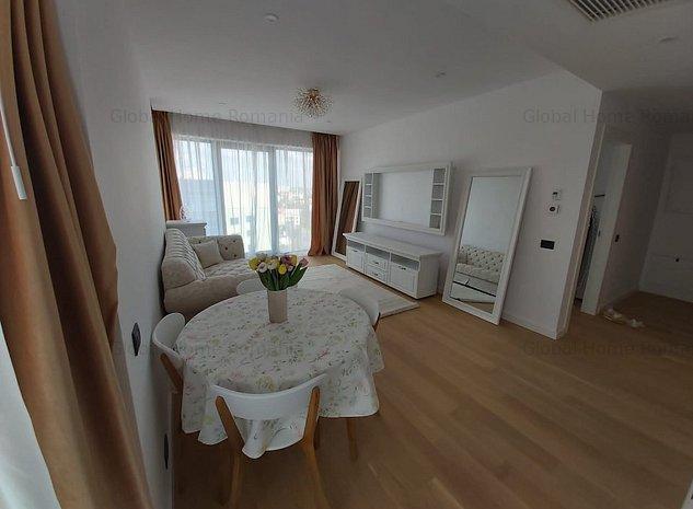 Apartament 2 camere | One Herastrau Floreasca Aviatiei| Mobiat LUX | Parcare - imaginea 1