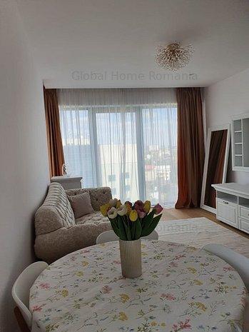 Apartament 2 camere | One Herastrau Floreasca Aviatiei| Mobiat |Parcare | View - imaginea 1