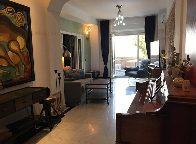 Apartament 3 camere Terasa 50mp superba | Dorobanti Romana Mobilat LUX | Parcare - imaginea 1