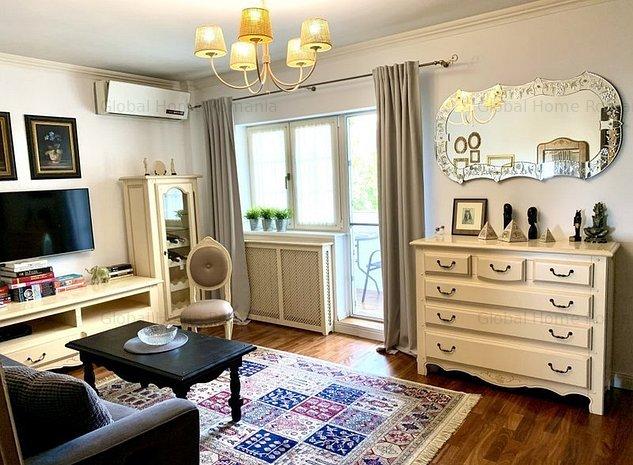 Apartament 3 camere | Beller Dorobanti Floreasca | Mobilat | Finisaje Premium - imaginea 1