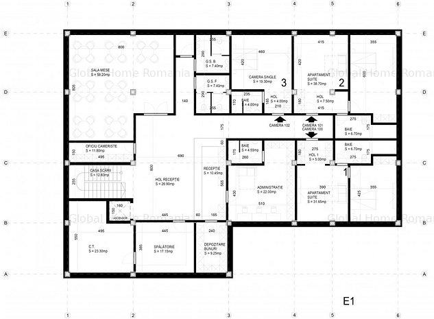 Vanzare Teren/ApartHotel(proiect) pt investitie Iancu Nicolae - Pipera - imaginea 1
