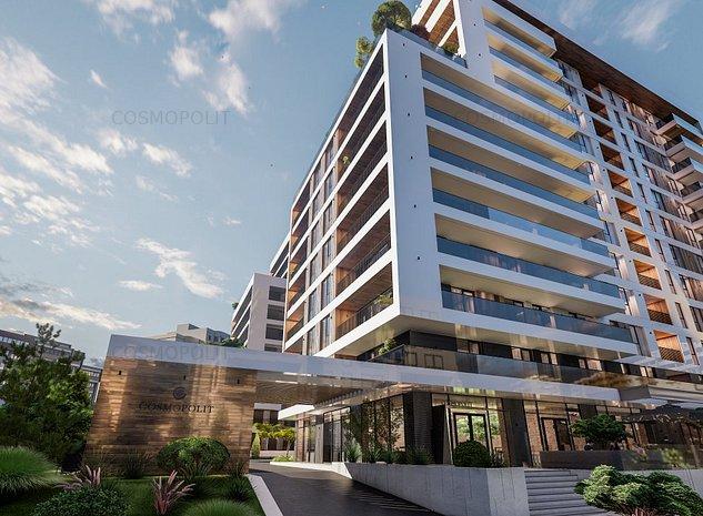 Apartament 3 camere Cosmopolit Zenit Bloc 1 - imaginea 1