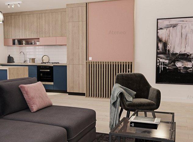 Apartament tip studio, 45 mp, ideal pentru investitie sau studenti - imaginea 1