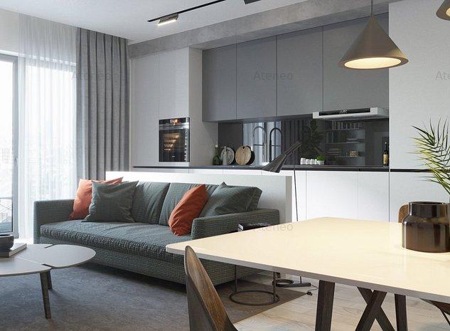 Studio de lux, etaj. 8, in cel mai nou cartier din Timisoara - Ateneo. - imaginea 1