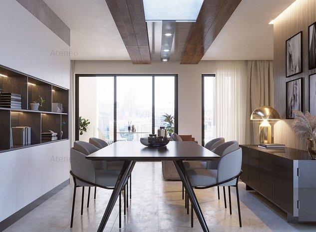 Penthouse de lux in cel mai nou cartier din Timisoara - Ateneo. - imaginea 1