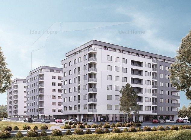 Apartament 3 camere, 61.8 mp, semifinisat, zona IRA - imaginea 1