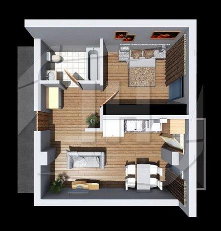 Apartament cu 2 camere, constructie noua, in zona strazii Corneliu Coposu - imaginea 1