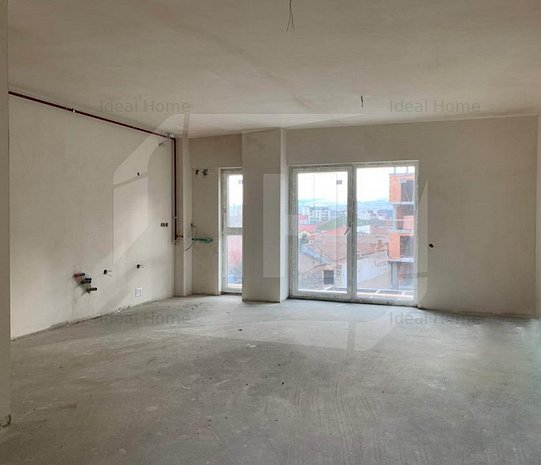 Apartament 2 camere, imobil nou, semifinisat, zona Dedeman - imaginea 1