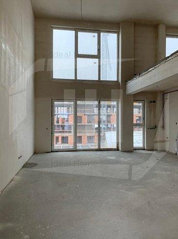 Apartament 3 camere, scara interioara, semifinisat, zona Dedeman - imaginea 1