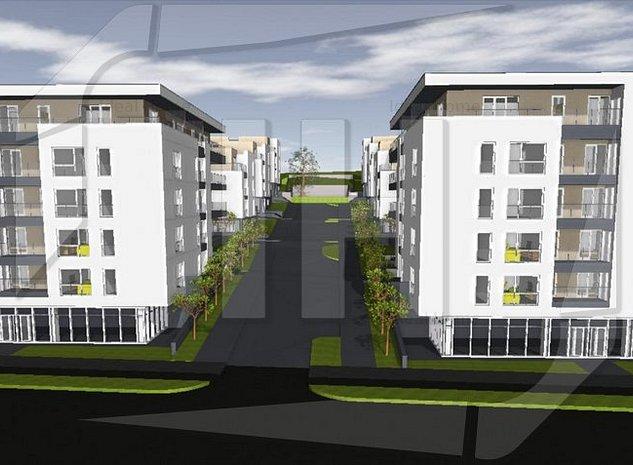 Apartament 2 camere intr-o constructie tip vila, terasa, zona strazii Oasului - imaginea 1