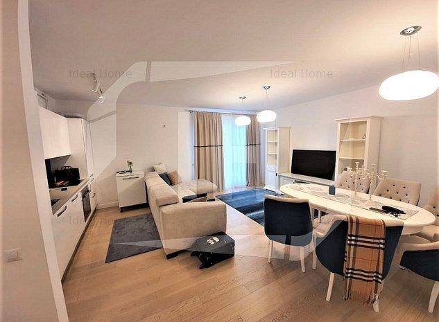 Apartament 3 camere, 85 mp, 2 parcari, 2 terase, imobil nou, Eremia Grigorescu - imaginea 1