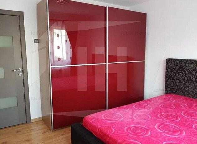 Apartament 2 camere, decomandat, etaj 1, mobilat, zona Parc Intre Lacuri - imaginea 1