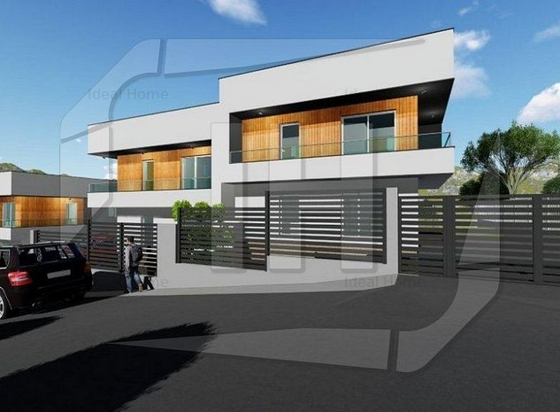 Duplex 117 mp utili, 250 mp teren, constructie noua, in zona strazii Oasului - imaginea 1