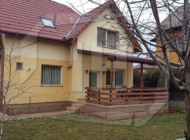 Casa individuala, 156 mp suprafata utila, 380 mp teren, parcare, Buna Ziua - imaginea 1