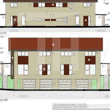 Duplex in constructie noua, garaj, 250 mp teren, zona Oasului - imaginea 1