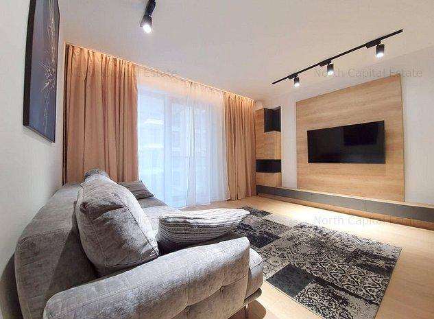 *luxury | One Herastrau Plaza | 2 camere | parcare subterana - imaginea 1