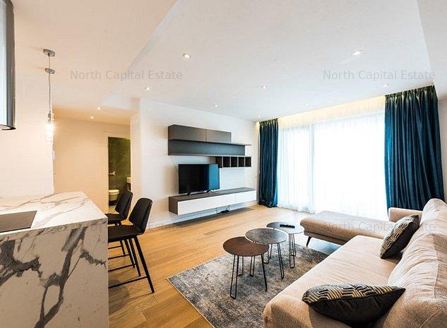 *luxury | One Herastrau Plaza | 3 camere | parcare subterana - imaginea 1