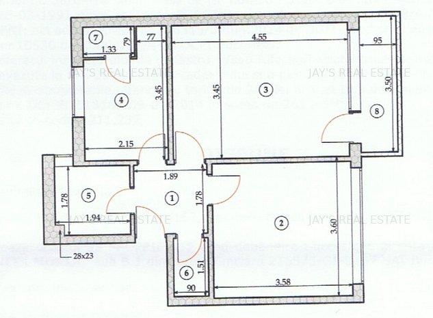 Apartament 2 camere decomandat - Sos.Giurgiului - imaginea 1