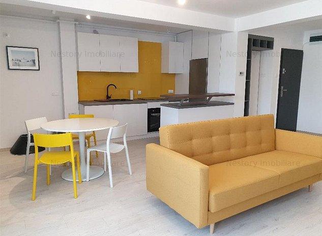2 camere frumos mobilate, etaj 2, parcare, Central - NTT Data - imaginea 1