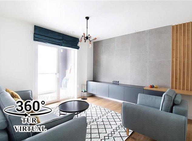 Apartament cu 2 camere decomandate NOU 56mp parcare !OMV Europa! - imaginea 1