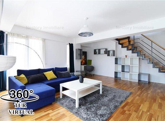 Apartament cu 4 camere ultrafinisat 109mp VIEW parcare! Hilton Central! - imaginea 1