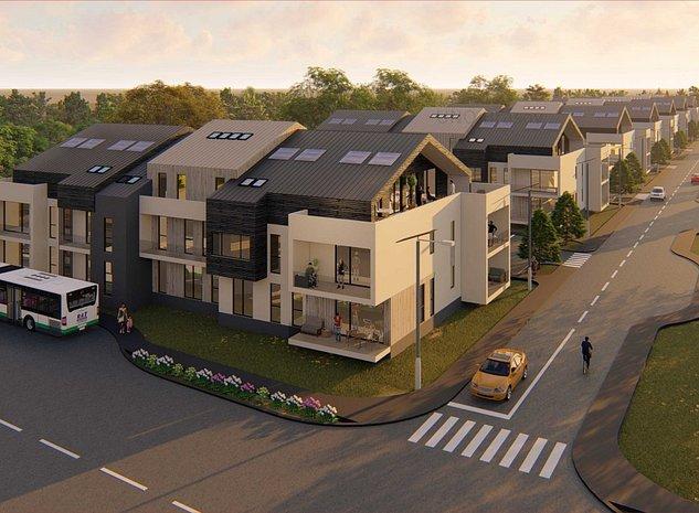 UNO Residence, Apartamente in bloc tip vila - imaginea 1