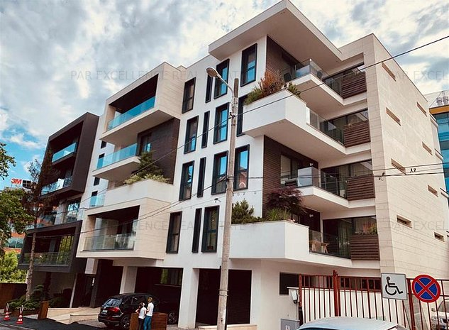 Inchiriere apartament 2 camere Lux Herastrau-Baneasa+Loc Parcare Subteran - imaginea 1