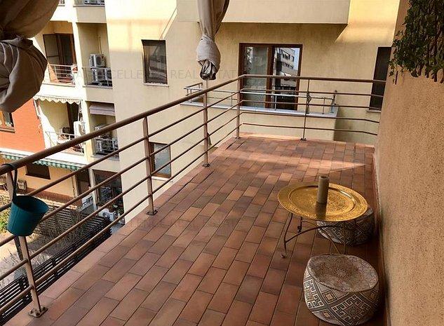 Inchiriere apartament 3 camere Lux Cartierul Francez-Herastrau - imaginea 1