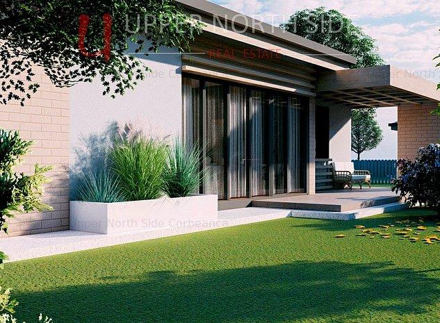 Complex Rezidential Corbeanca 36 Vile Individuale | Canalizare | Teren 460 mp - imaginea 1
