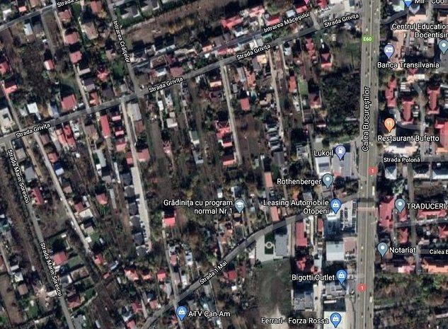 Teren 1230 mp Strada Grivita - imaginea 1