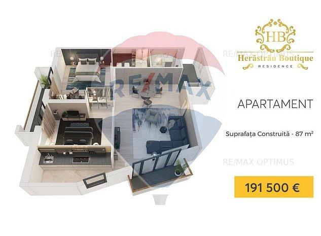 Apartament 3 camere Herastrau Boutique Residence - imaginea 1
