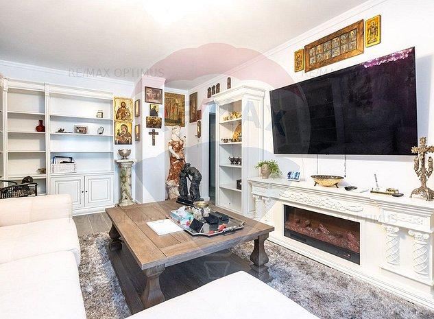 Apartament 4 camere zona Beller finisat lux mobilat si utilat complet - imaginea 1
