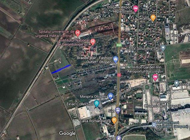 Teren 7,576mp Otopeni / Strada Mihai Eminescu - imaginea 1