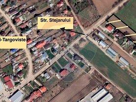 Teren constructii de vânzare, în Crevedia, zona Central