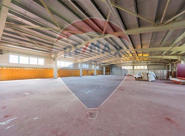 Hala industriala  1370 mp depozitare /productie DN1 - imaginea 1