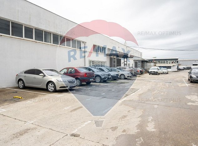 Hala 538 mp depozitare cu birou inclus B-dul Timisoara - imaginea 1