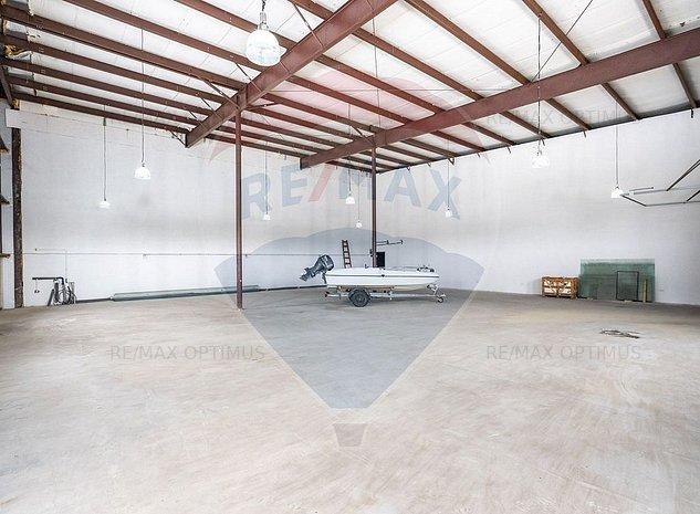 Spatiu industrial 800 mp hala/ birouri/ showroom  Sos. Odai - imaginea 1