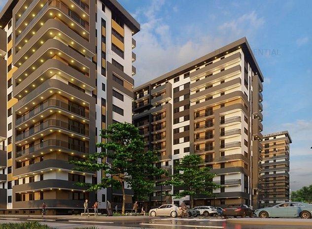 2 camere complex rezidential - Nicolina - pret promotional - imaginea 1