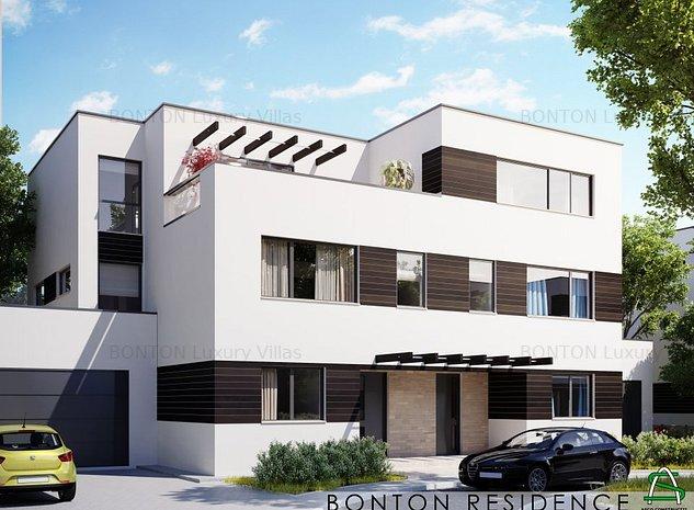 Bonton Luxury Villas - Pret Promotional Octombrie, vile 6/7 camere si garaj - imaginea 1