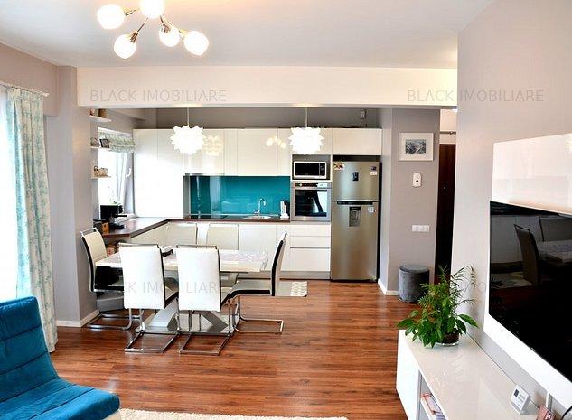 Apartament 4 camere, 95 mp, LUX, 2 parcari, la cheie! zona Bonjour Residence - imaginea 1