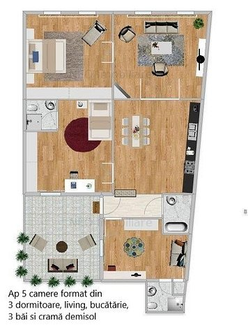 Apartamente in vila de vanzare in centrul orasului Cluj-Napoca! - imaginea 1