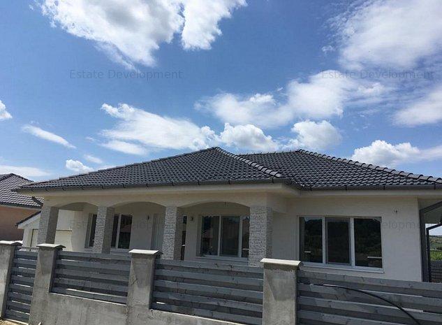 Casa noua in Jucu stil mediteranean cu Teren de 500mp - imaginea 1