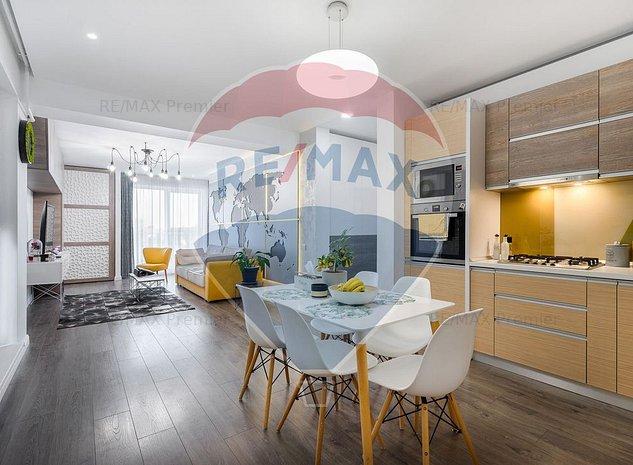 Apartament 3 camere Valleta Residence/ Baneasa/Sisesti - imaginea 1