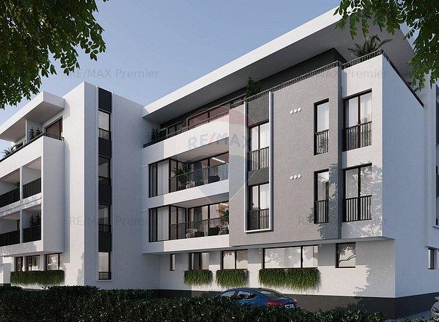 Apartament 3 camere | Proiect Trio Residence Otopeni | Comision 0% - imaginea 1