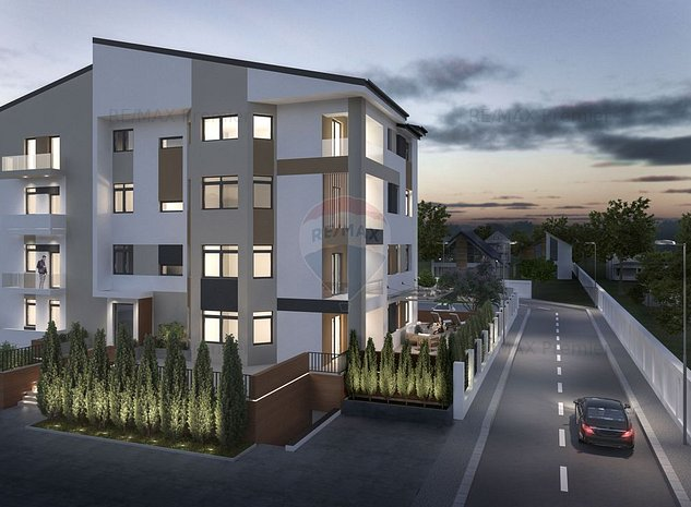 Apartament 2 camere cu terasa, 163 suprafata totala. - imaginea 1