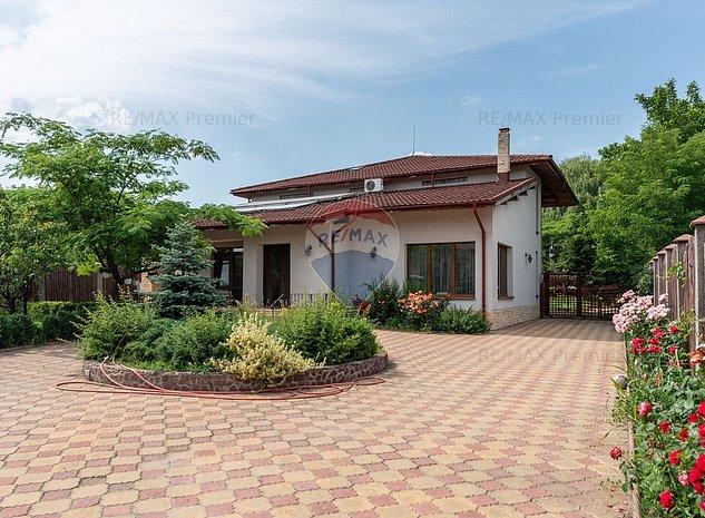 Vila cu piscina in Otopeni 1500MP | SU 350mp | Acces usor DN1 - imaginea 1